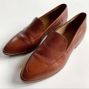 EUC✨Madewell Frances Brown Loafers Size 10